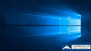 Comment installer Windows 10 sans clé de produit