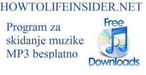Program za skidanje muzike MP3 besplatno