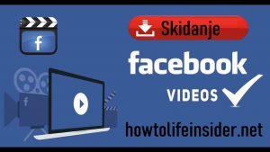 Kako skinuti video sa facebooka na kompjuter