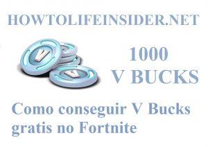 Como conseguir V Bucks gratis no Fortnite