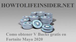 Como obtener V Bucks gratis en Fortnite