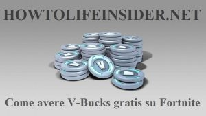 Come avere V-Bucks gratis su Fortnite