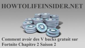 Comment avoir des V bucks gratuit sur Fortnite Chapitre 2 Saison 2