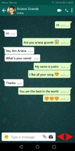 What is Ariana Grande phone number
